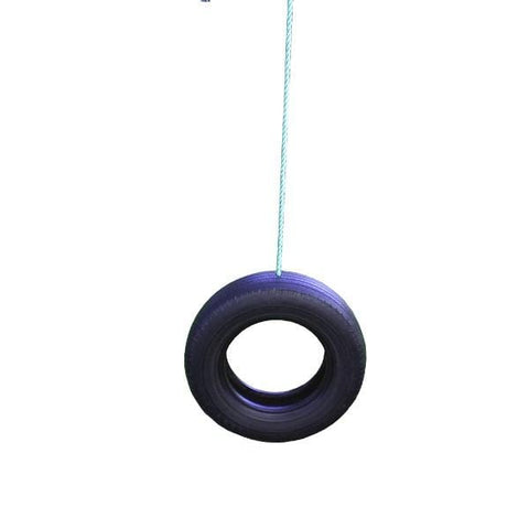 Image of Vertical Tyre Swing 1 point by Aussie Swings Aussie Swings Swing Sets allthingsforkids.myshopify.com afterpay zip