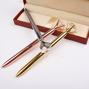 Diamond Topped Ballpoint Pens