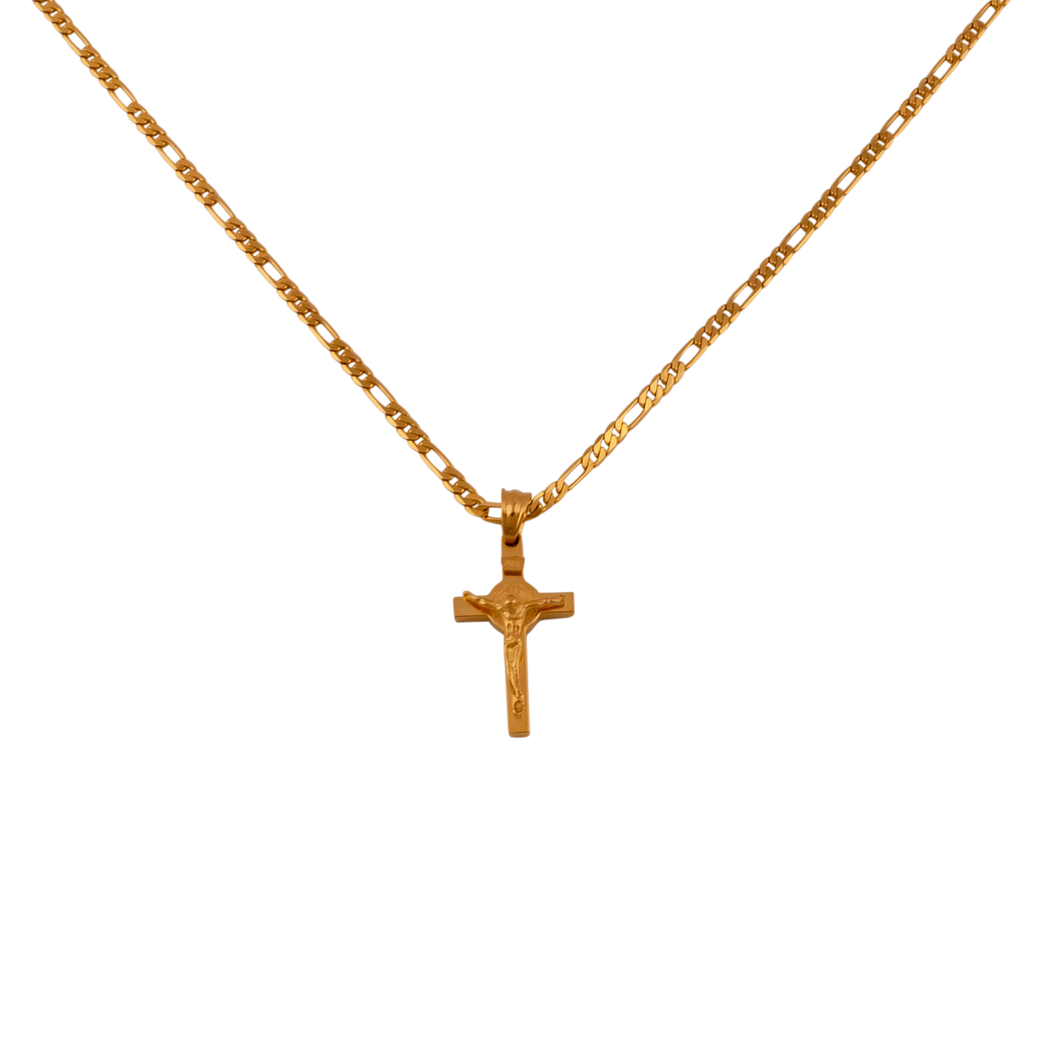 products micro gold small yellowgold jesus piece diamond mini pendant copy