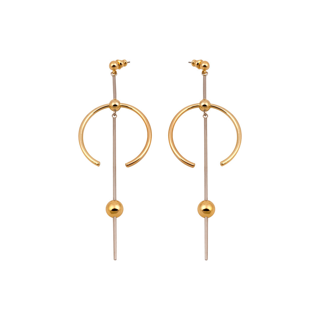 girl earrings anthony gold by designs hoop