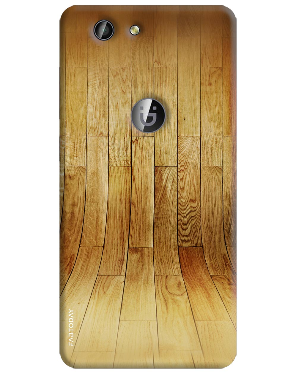 Wooden Texture Back Cover for Gionee F103 Pro
