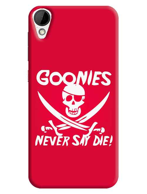 Gonnies Never Say Die HTC Desire 825 Mobile Cover