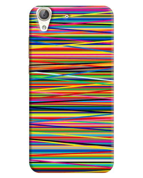 Abstract Huawei Honor Holly 3 Plus Mobile Cover