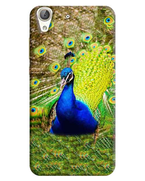 Dancing Peacock Huawei Honor Holly 3 Mobile Cover