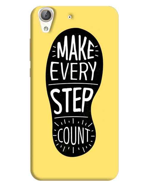 Make Every Step Count Huawei Honor Holly 3 Mobile Cover