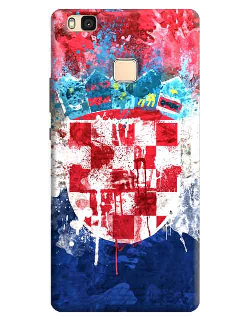Abstract Huawei P9 Lite Mobile Cover