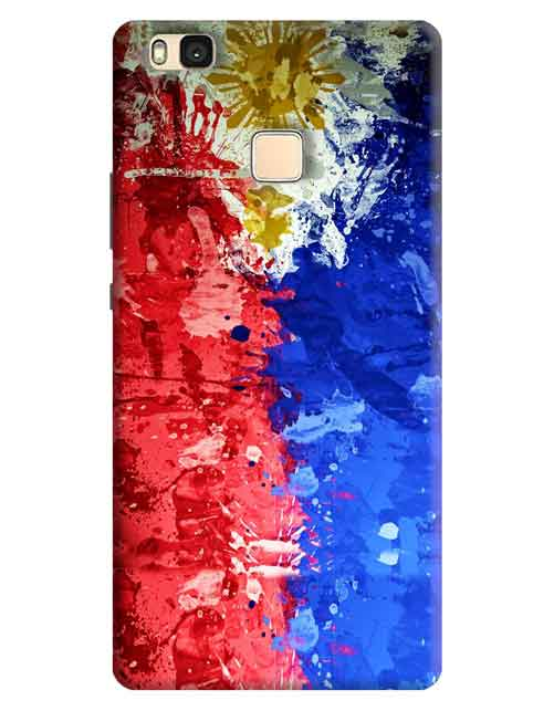 Abstract Honor 8 Smart Mobile Cover
