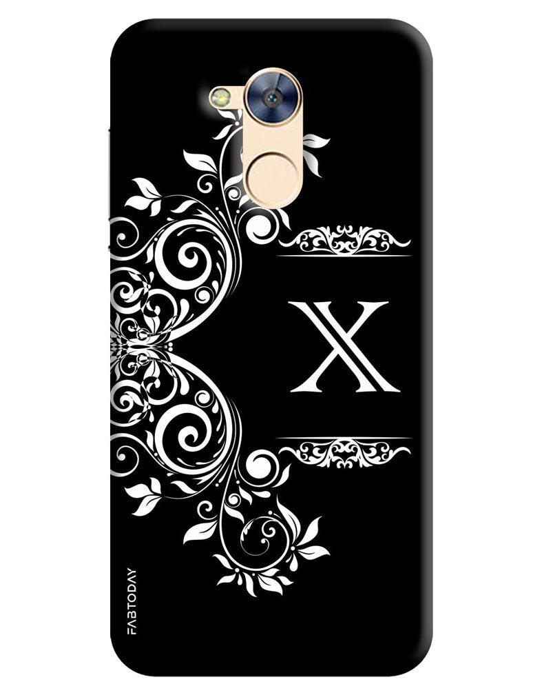 the best attitude a1ee8 70197 Alphabets - X Back Cover for Honor Holly 4