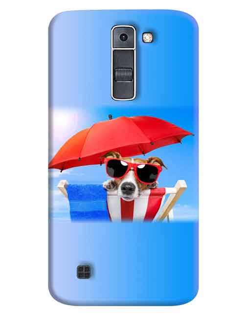 Dog in the Sun LG K7 Mobile Cover