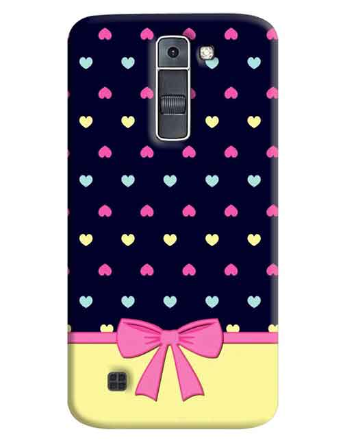 Heart LG K7 Mobile Cover