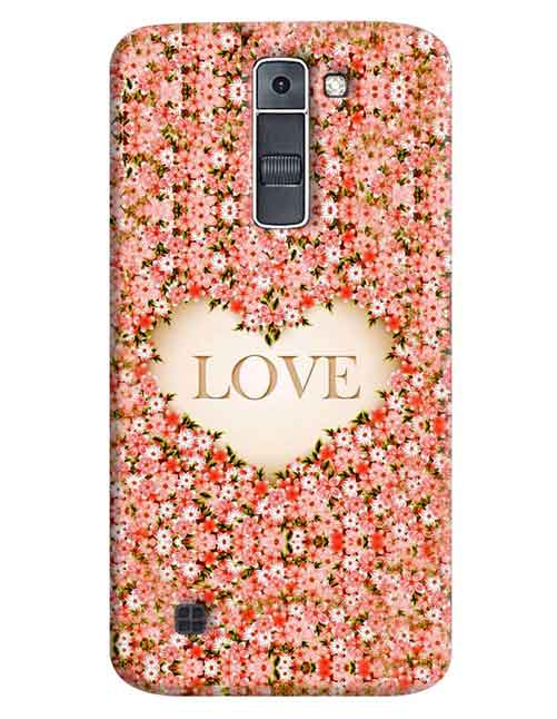 Love LG K7 Mobile Cover