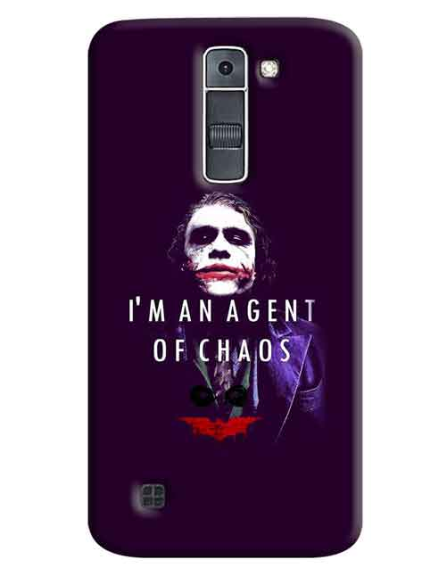 I'm an Agent of Choas LG K7 Mobile Cover