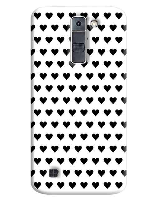 Hearts LG K7 Mobile Cover