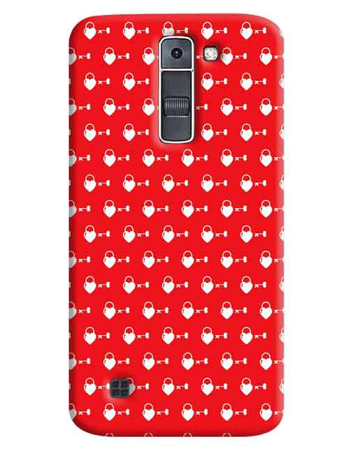 Heart with a Key LG K7 Mobile Cover