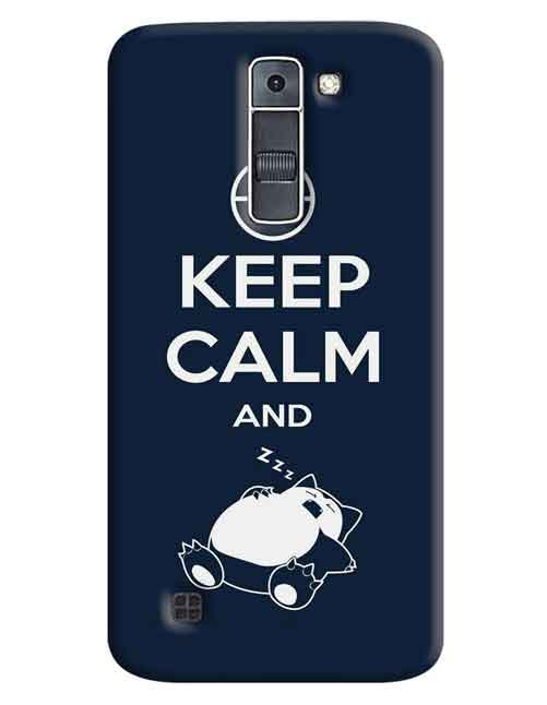 Keep Calm LG K7 Mobile Cover