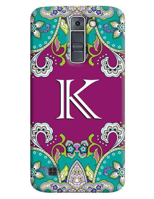 Alphabets - K LG K7 Mobile Cover