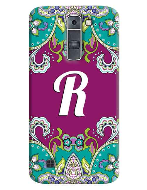 Alphabets - R LG K7 Mobile Cover