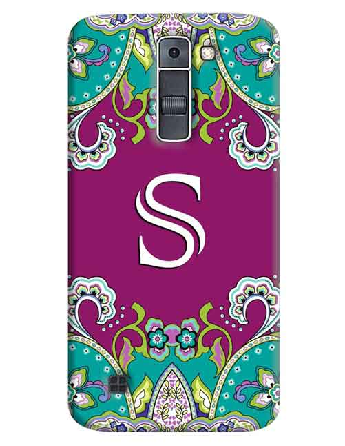 Alphabets - S LG K7 Mobile Cover