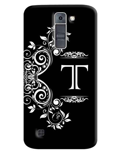 Alphabets - T LG K7 Mobile Cover