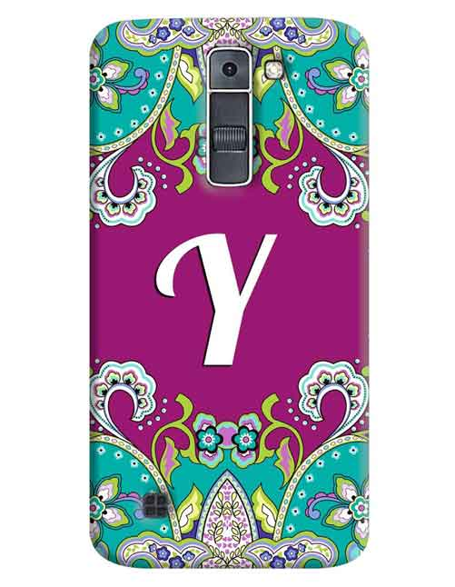 Alphabets - Y LG K7 Mobile Cover