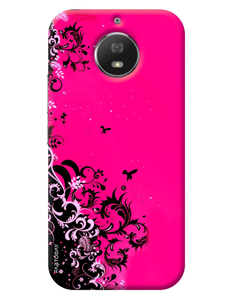 buy online e081c 8c096 Abstract Back Cover for Motorola Moto G5S
