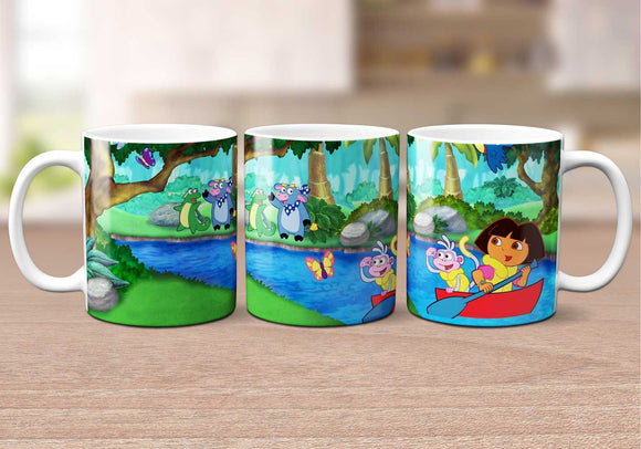 Dora The Explorer Coffee Mug