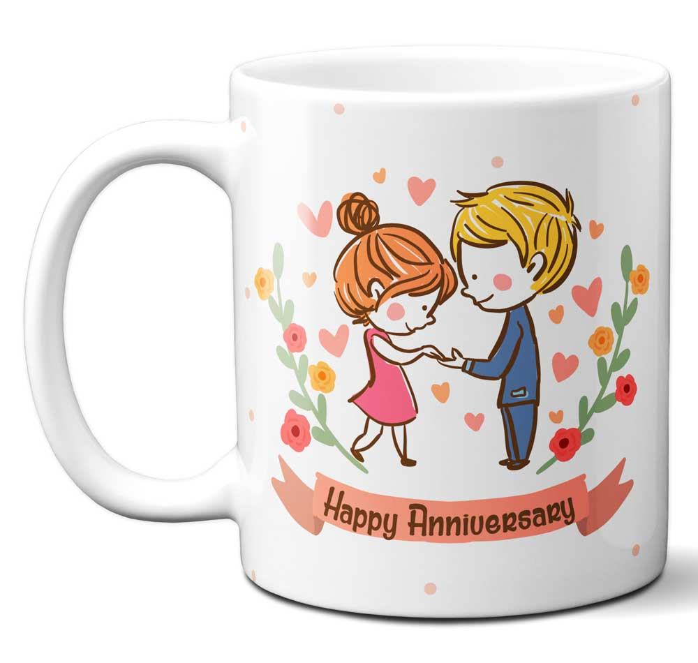 Happy Anniversary Coffee Mug