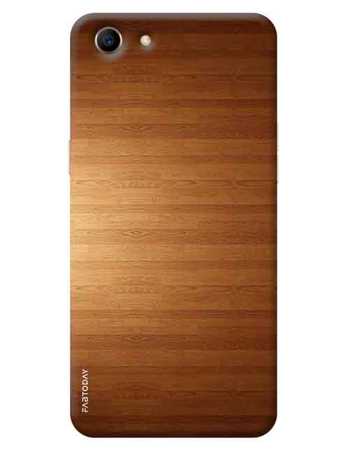sports shoes fc839 75883 Wooden Oppo A83 Mobile Cover