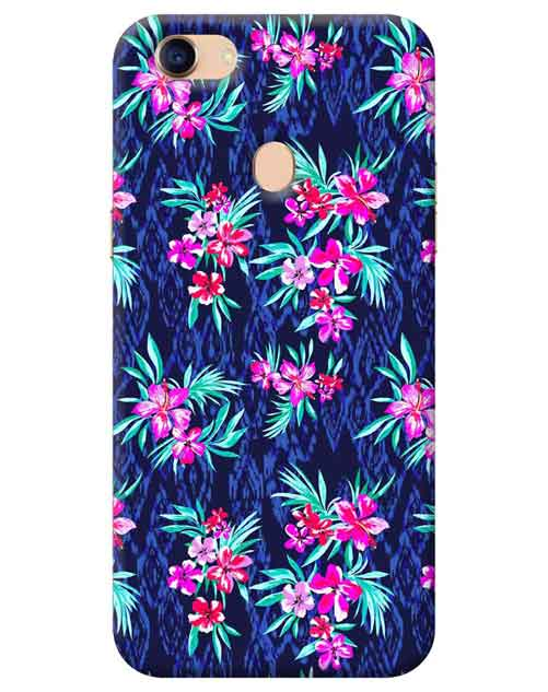 Floral Oppo F7 Mobile Cover