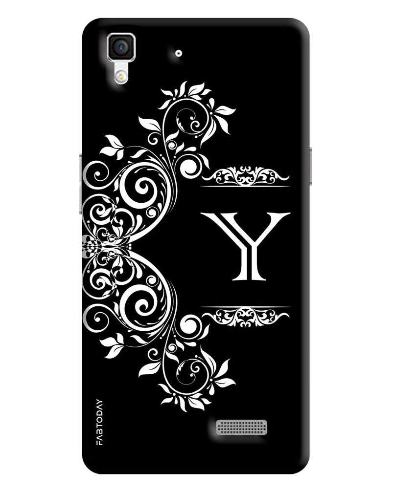 cheap for discount b6038 4beec Alphabets - Y Back Cover for Oppo R7 Lite
