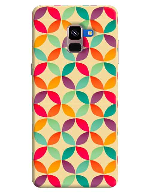 Abstract Samsung A8 Plus 2018 Mobile Cover
