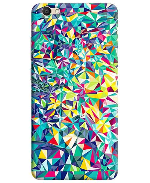Abstract Vivo V5 Mobile Cover