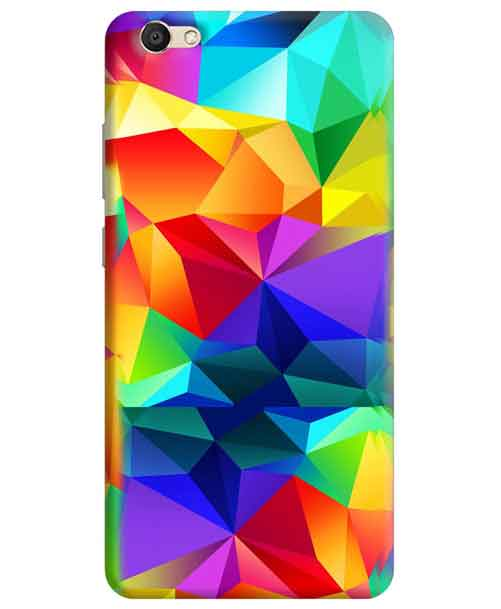Colorful Abstract Vivo V5 Mobile Cover