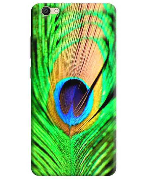 Peacock Feather Vivo V5s Mobile Cover