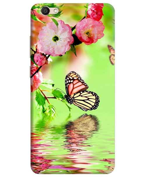 Butterfly Vivo V5 Mobile Cover