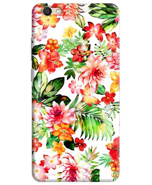 Flowers Vivo V5 Mobile Cover