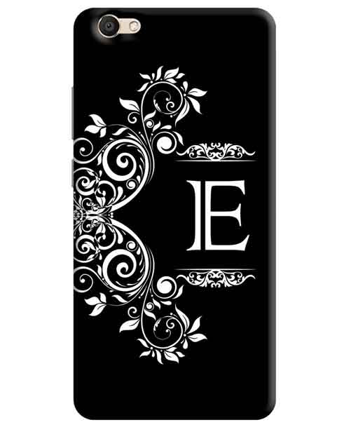 Alphabets - E Vivo V5 Mobile Cover