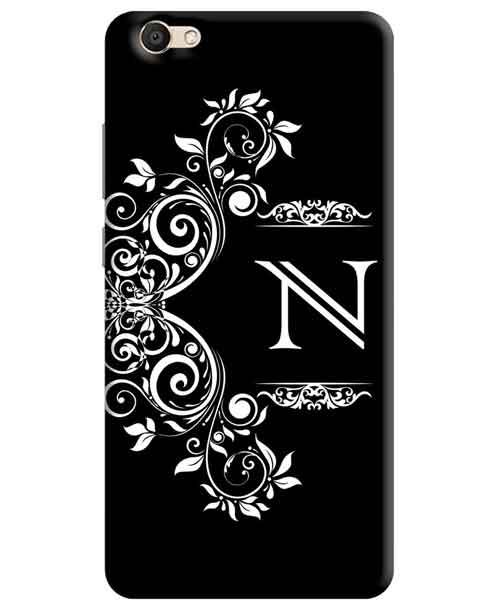 Alphabets - N Vivo V5s Mobile Cover