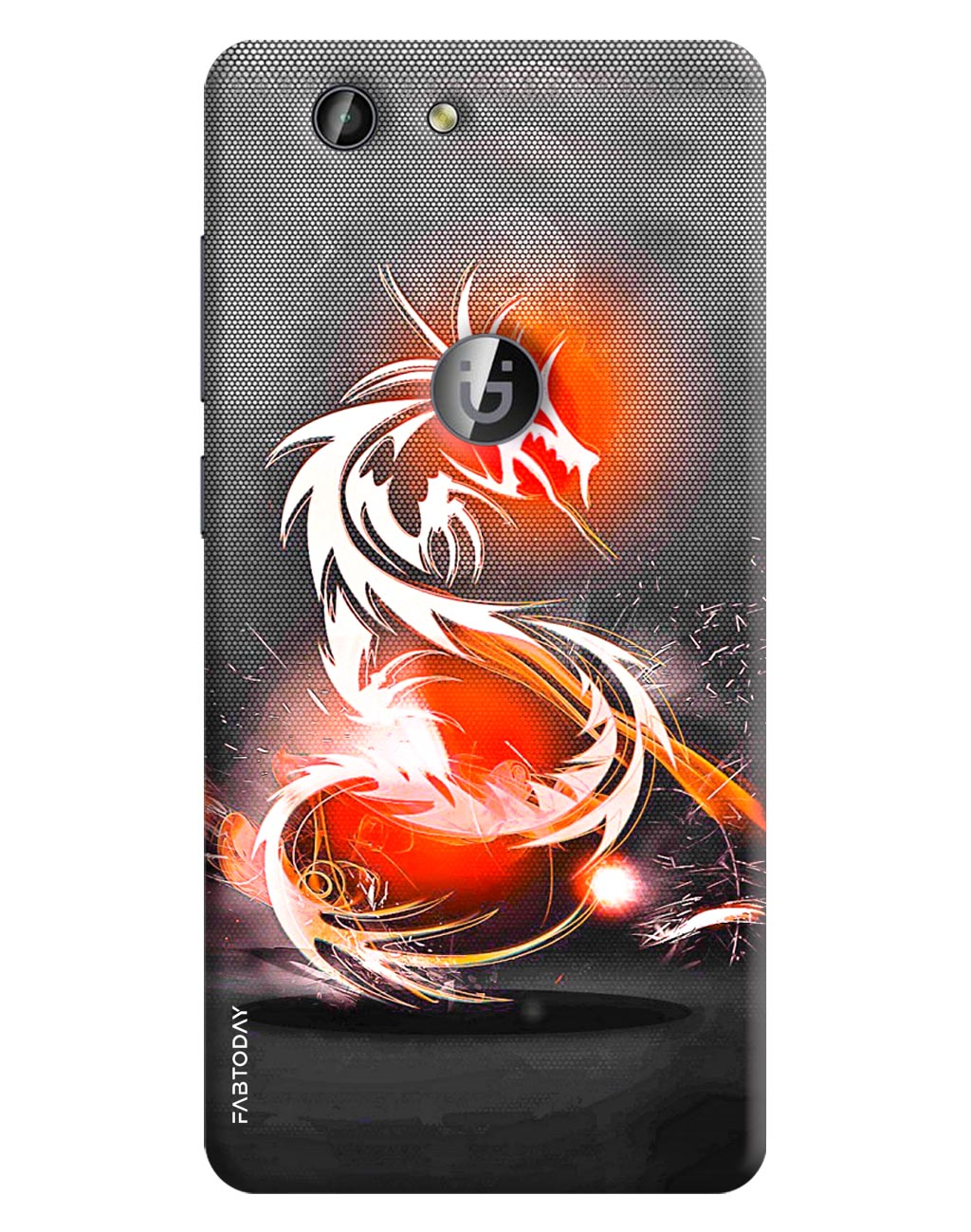 Dragon Back Cover for Gionee F103 Pro