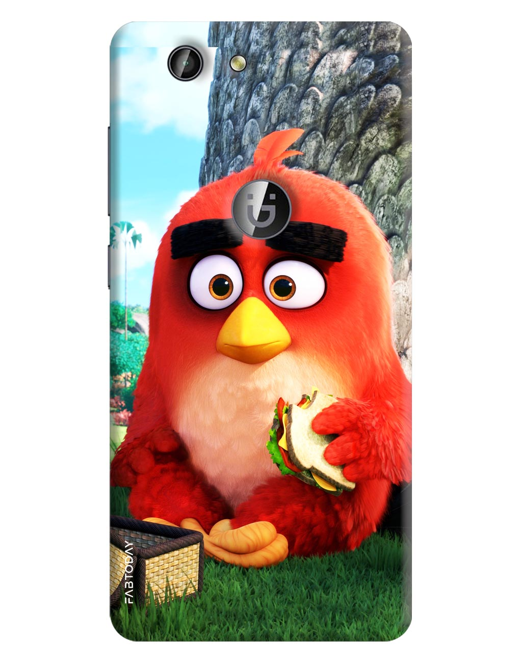Angry Birds Back Cover for Gionee F103 Pro