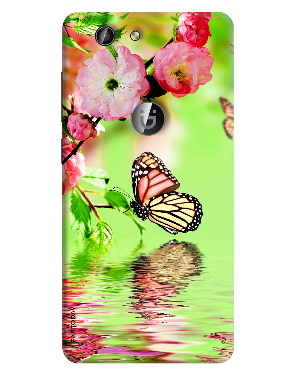 Butterfly Back Cover for Gionee F103 Pro