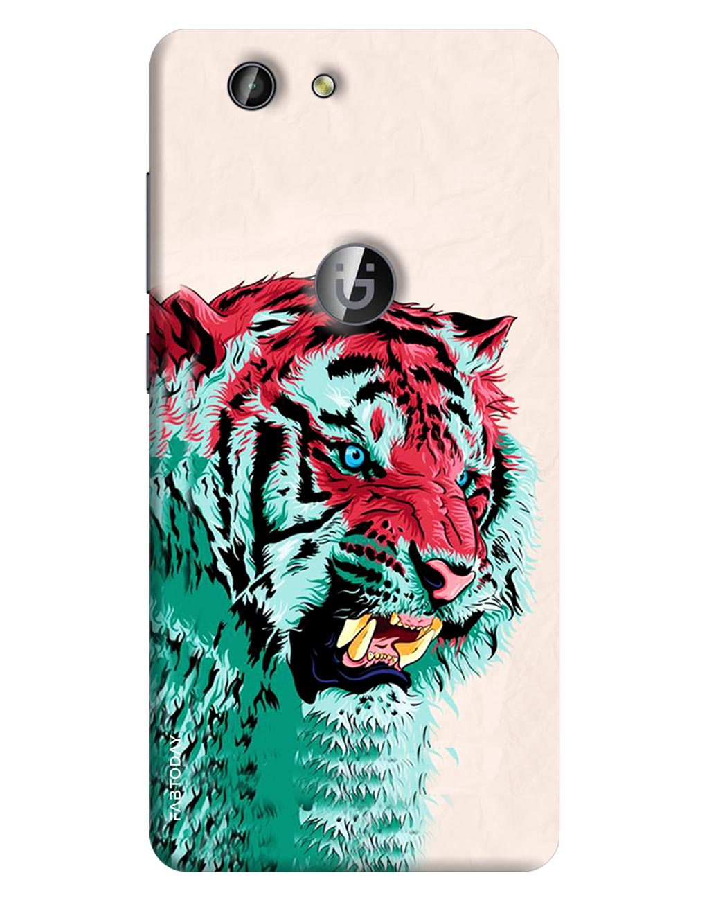 Tiger Back Cover for Gionee F103 Pro