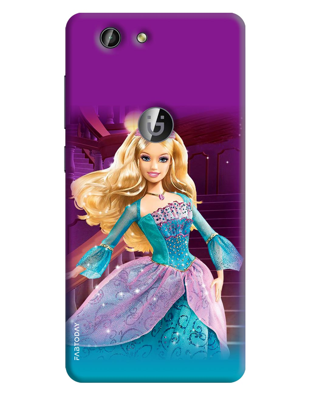 Barbie Back Cover for Gionee F103 Pro