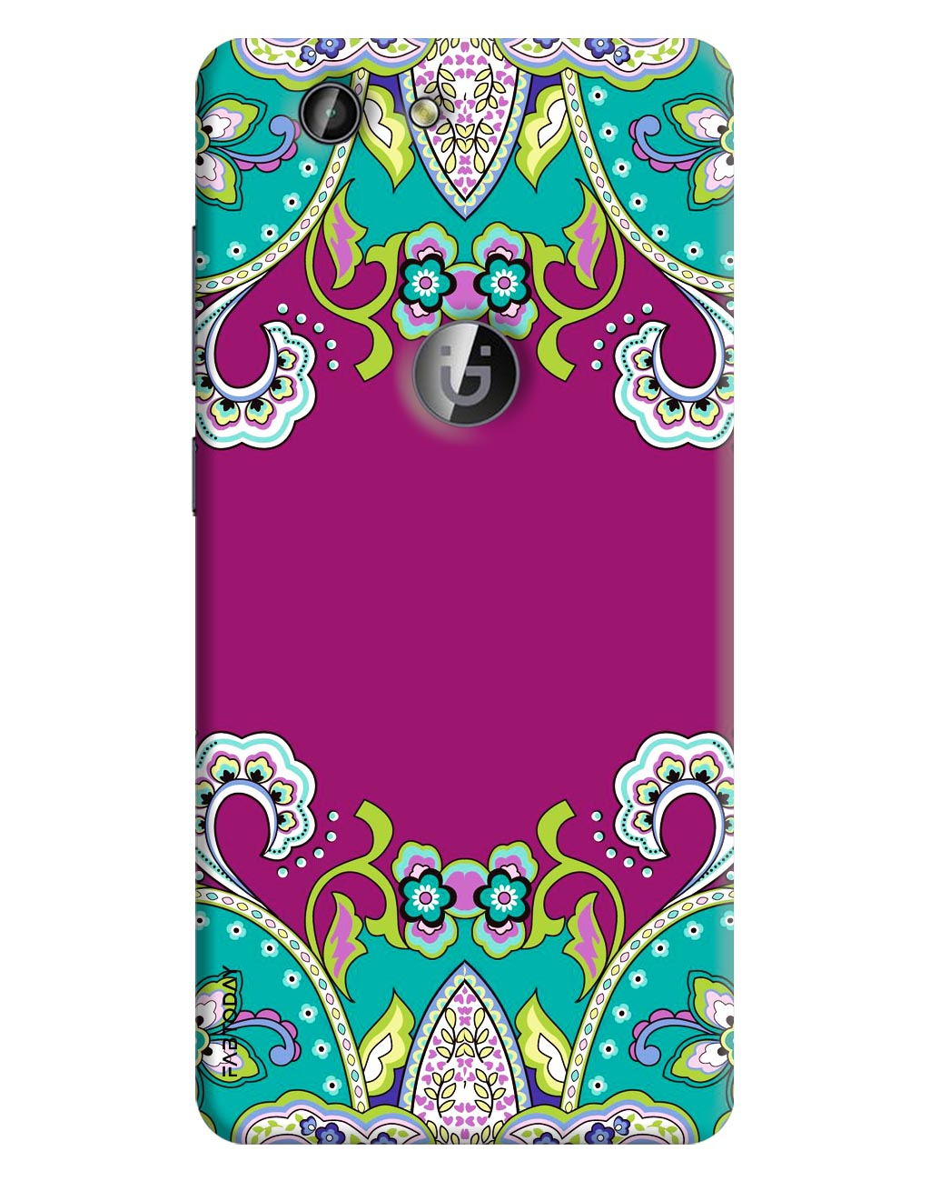 Abstract Back Cover for Gionee F103 Pro