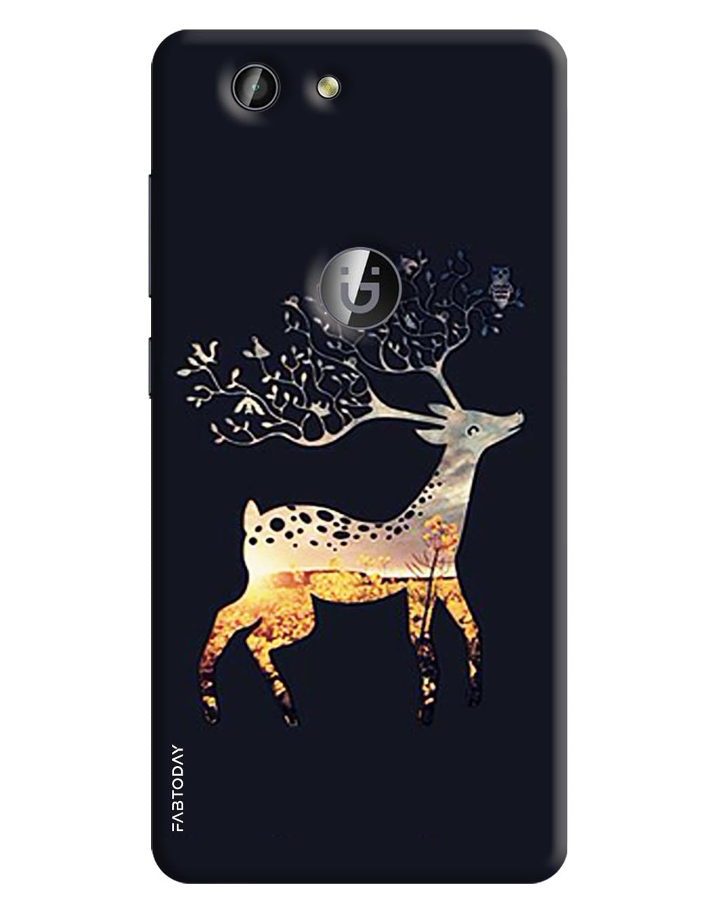 Deer Back Cover for Gionee F103 Pro
