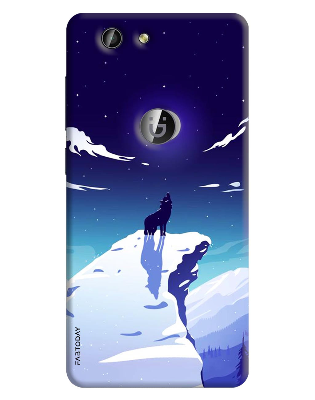 Animals Back Cover for Gionee F103 Pro