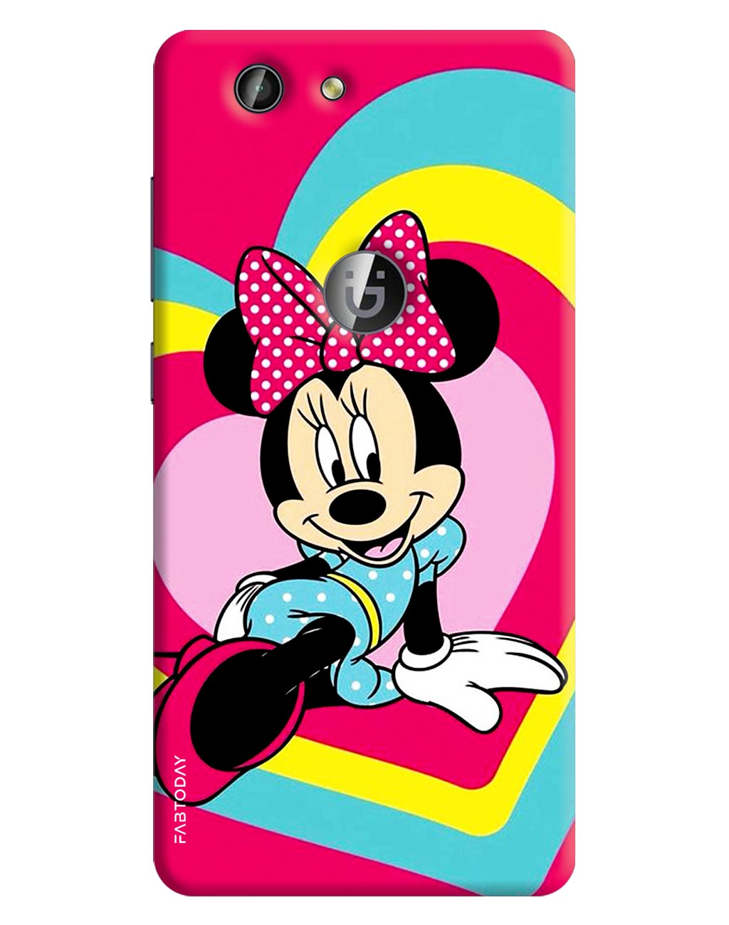Mini Mouse Back Cover for Gionee F103 Pro