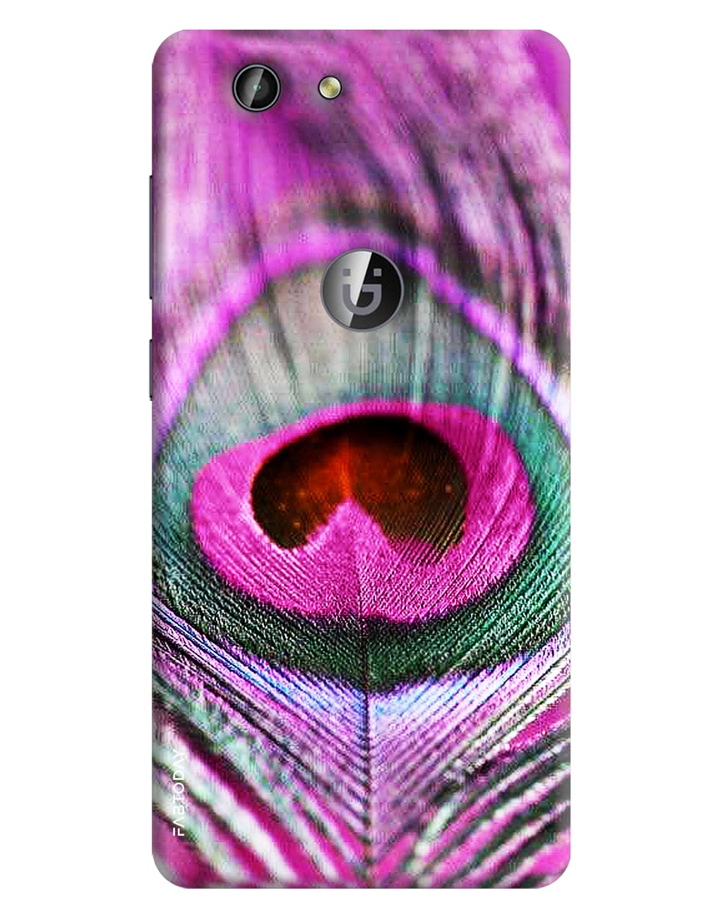 Peacock Back Cover for Gionee F103 Pro