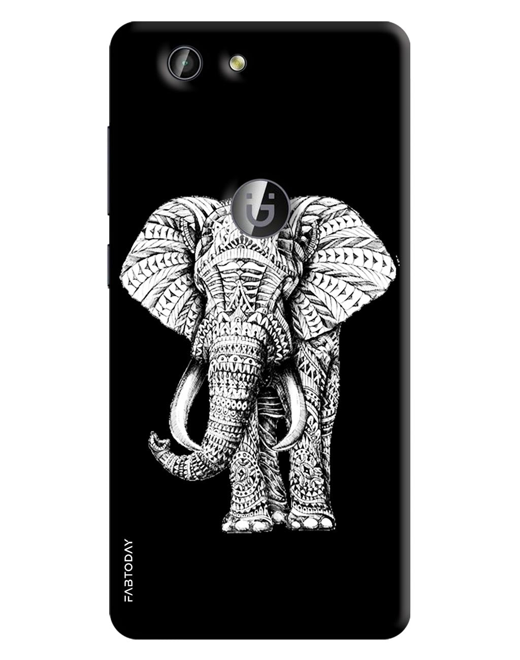 Elephant Back Cover for Gionee F103 Pro