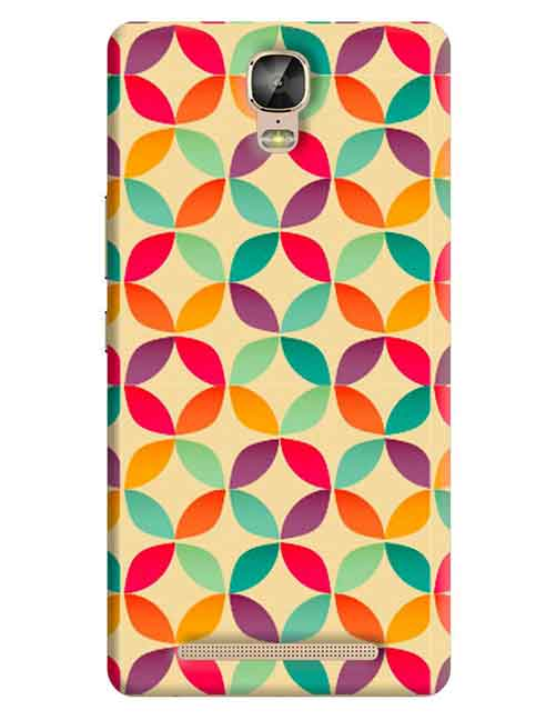 Abstract Gionee M5 Plus Mobile Cover